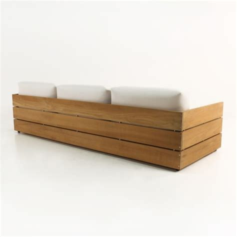 Outdoor Teak Sofa by Outdoor Teak Sofa Teak Outdoor Sofas Chairs Sectionals For