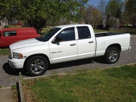 dodge ram 1500 4 door sell used 2004 dodge ram 1500 slt crew cab 4 door 4