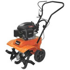 tillers at home depot powermate 11 in 139 cc 4 cycle front tine gas tiller