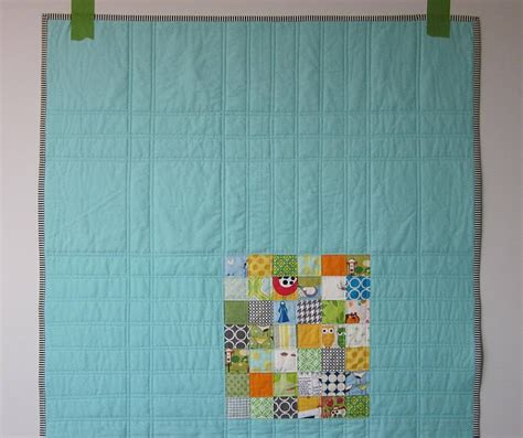 scrappy and happy quilts limited palette tons of books s o t a k handmade scrappy patchwork baby boy quilt finished