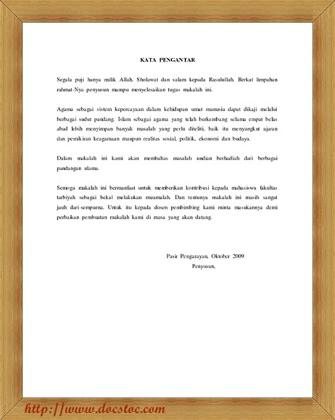 cara membuat abstrak karya ilmiah pdf contoh kata pengantar untuk karya tulis ilmiah 16 contoh o