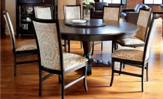 fantastic black wood kitchen table which indicates