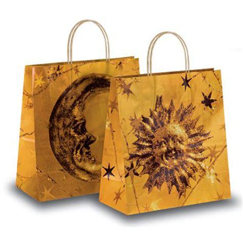 sun moon design paper bags bags carrier bag shop