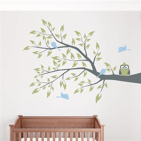 branches wall stickers 28 branch of birds wall stickers owls tree branch owl bird birds decals wall sticker