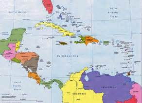 map of america and caribbean cubas about cuba by region