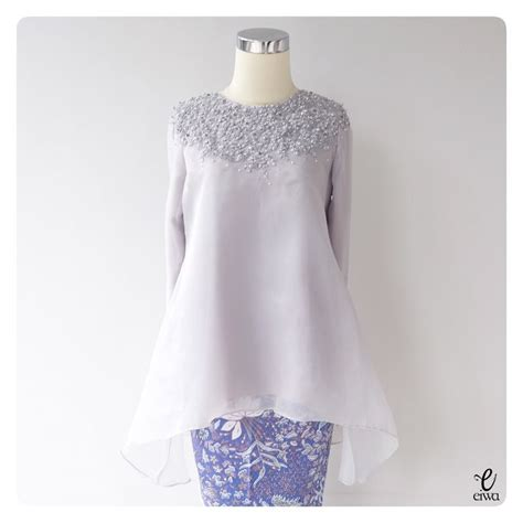 Dress Setelan Top Brokat Rok Organza 25 best kebaya ideas on