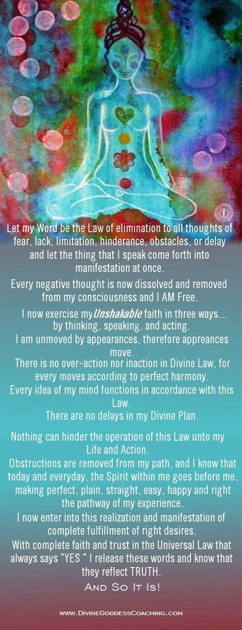 chakra prayer affirmations chakra and prayer on