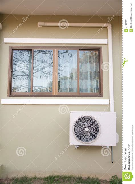Window Unit For Sliding Windows Designs The Sliding Glass Window Stock Image Image Of Design 47452057