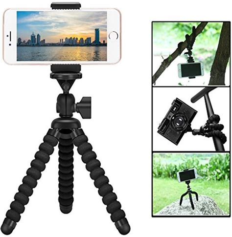 Tripod Mini Holder L Universal Mini Adjustable Cl Tripod mini cell phone tripod holder zton adjustable mobile phone mount universal octopus