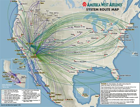 america route map america west airlines route map aviation pics humor
