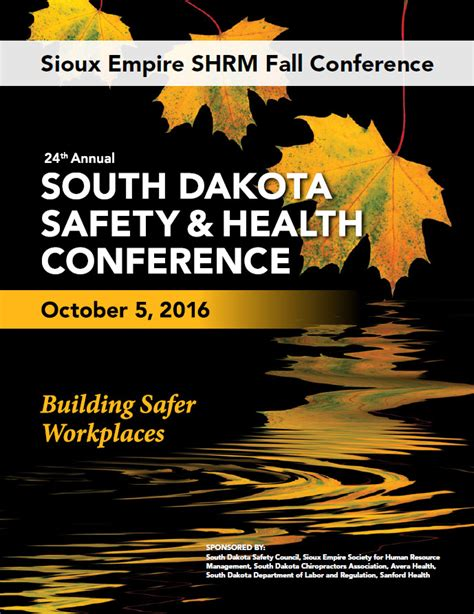 Mba Regulatory Compliance Conference September by 2016 September Newsletter Sioux Empire Society For Human