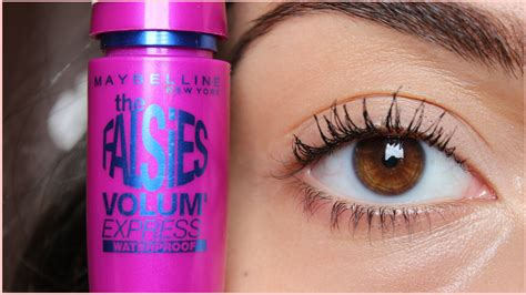 Maybelline Volum Express Washable Mascara Expert Review by Review Maybelline The Falsies Volum Express Mascara