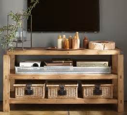 Narrow Media Cabinet Rustic Tv Or Media Centers Vintage Chic Redux