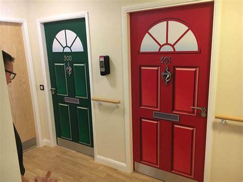 Door Drapes Dementia Door Wraps Project 70 Door Vinyls Supplied