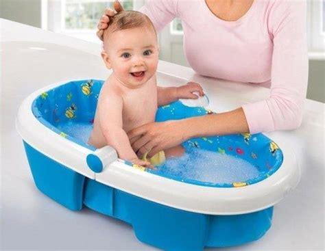 bathing baby in bathtub best baby bathtub reviews alpha mom