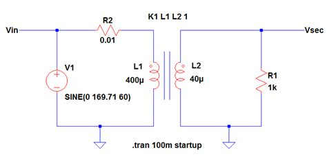 arbitrary inductor model ltspice transformer model in ltspice step by step guide