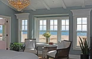 Bay Window Treatments For Bedroom - hamptons style
