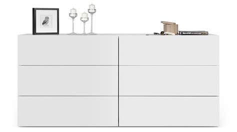 Grande Commode Blanche by Grande Commode Blanche Design Contemporain 6 Tiroirs