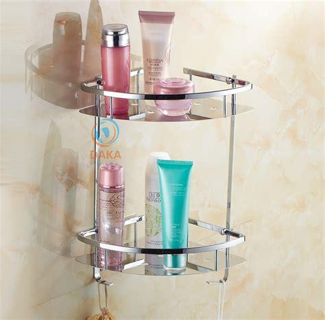 Bathroom Accessories Modern Design Shower Shoo Toilet Bathroom Shower Shelves Stainless Steel