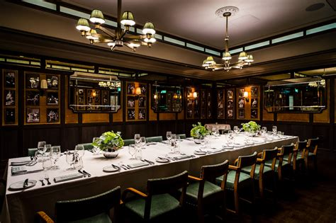 luxury dining rooms at the market grill