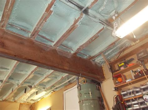 Insulation Services Spray Foam Insulation In Garage How To Insulate A Garage Ceiling