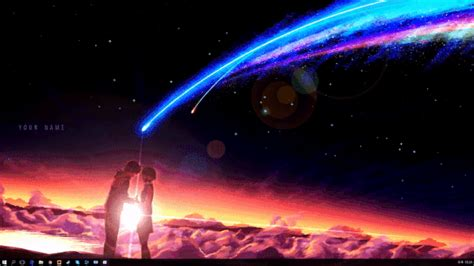 wallpaper engine video format your name with movie ost quot sparkle quot hd wallpaper engine