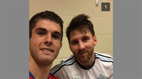 christian pulisic messi christian pulisic and lionel messi might just be best
