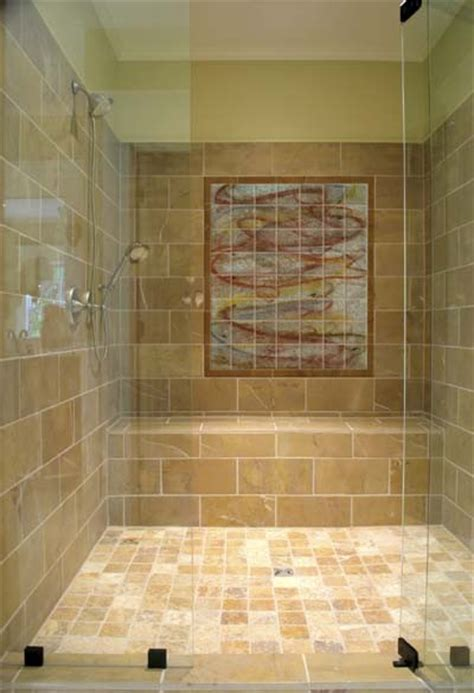 japanese bathroom tiles koi tile mural in walk in shower asian bathroom