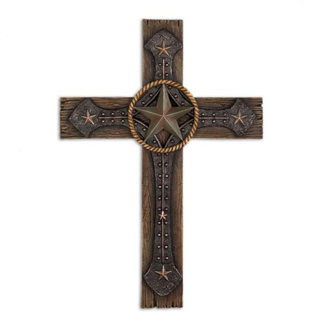 Wholesale Crosses Home Decor by Wholesale Rustic Cowboy Wall Cross Buy Wholesale Wall Decor