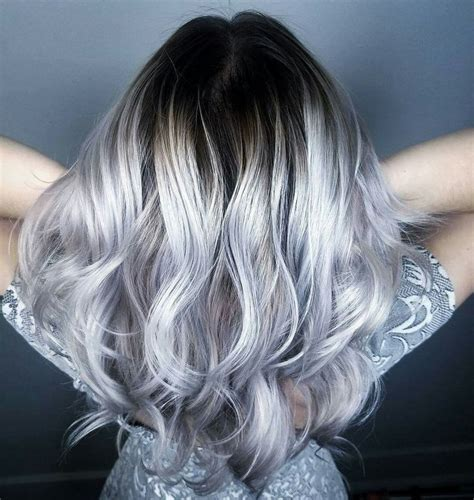 25 trending gray balayage ideas on gray ombre