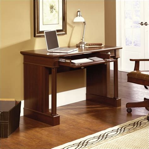 Cherry Finish Computer Desk Sauder Palladia Writing Select Cherry Finish Computer Desk Ebay