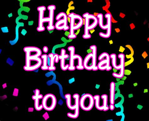 Animated Happy Birthday Wishes 4 U Birthday Wishes Myenglishclub