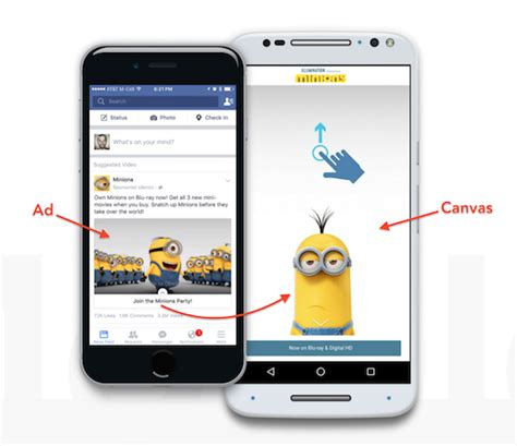 Fb Canvas | facebook canvas a full screen mobile ad format for brands