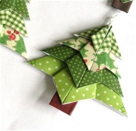 Origami Tree Decorations - decoration welcome craft
