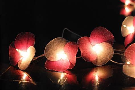 Pink Flower String Lights Pretty Pink Flower String Lights