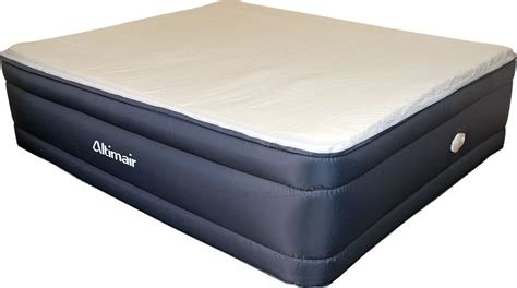 king size air bed altimair aatkrmffv01 king size memory foam inflatable