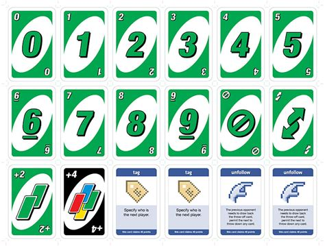 printable uno card template socia uno cards