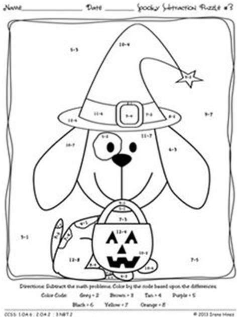 halloween coloring pages 1st grade 1st grade math coloring worksheets halloween google