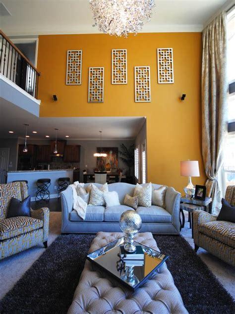 hgtv designer living rooms yellow gray contemporary living room paisley mcdonald