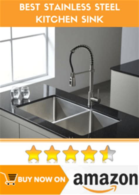 best stainless steel kitchen sinks reviews best stainless steel kitchen sink reviews guide for 2016
