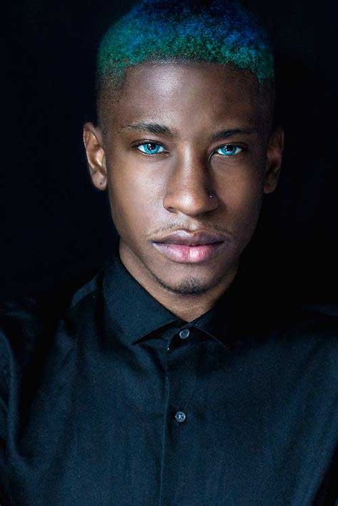 dyed hairstyles for black men 10 blue hair on guys mens hairstyles 2018