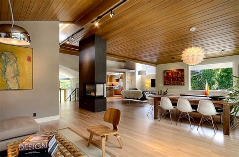 contemporary home interiors mid century modern style design guide ideas photos