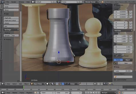 blender tutorial easy blender tutorial creating a chess piece for 3d printing