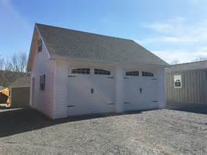 Garage Site Built On Site Custom Amish Garages In Oneonta Ny Amish