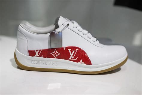 Converse Lv Supreme White style sector top picks from louis vuitton x supreme fw17 the source