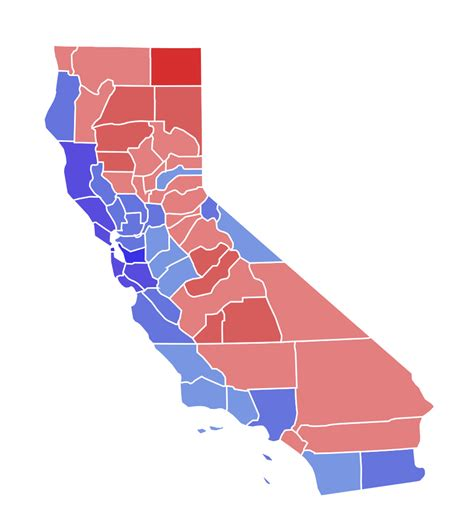 california map election 2016 file california governor election results by county 2014