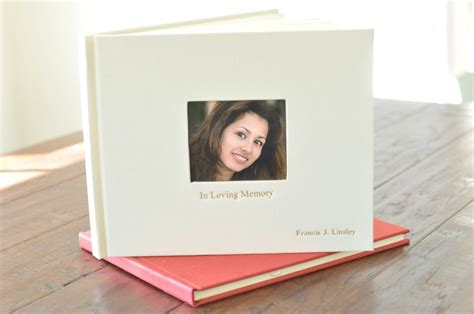 memorial picture book celebration memorial book a meaningful keepsake by