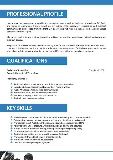 Newspaper Reporter Resume by Journalist Resume Template 040