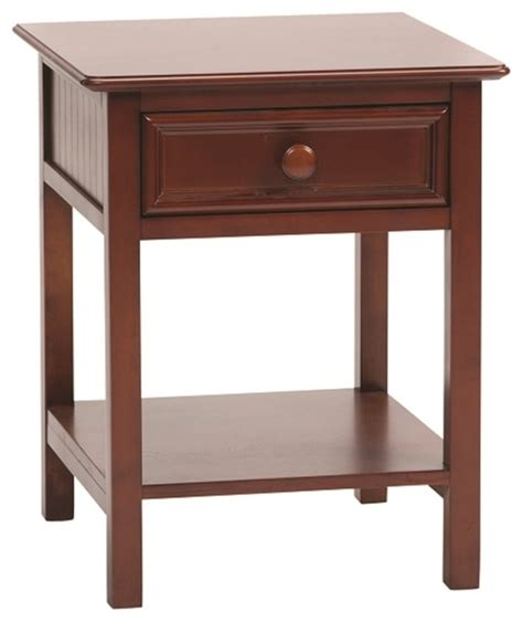 transitional nightstands bolton wakefield 1 drawer nightstand transitional