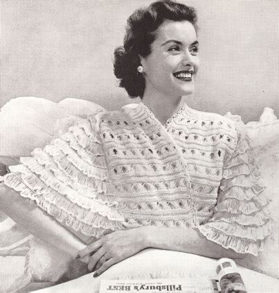 free knitting pattern bed jacket free knitting patterns for bed jackets simple free